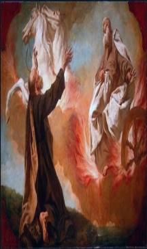 Profeta Eliseu e a miraculosa partida do Profeta Elias