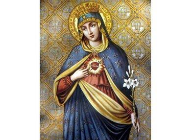 Imaculado Coração e Maria