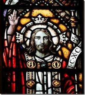 Cristo Rei Vitral