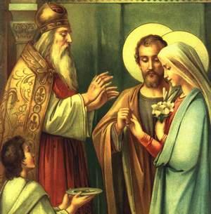 Casamento de santa maria e sao jose