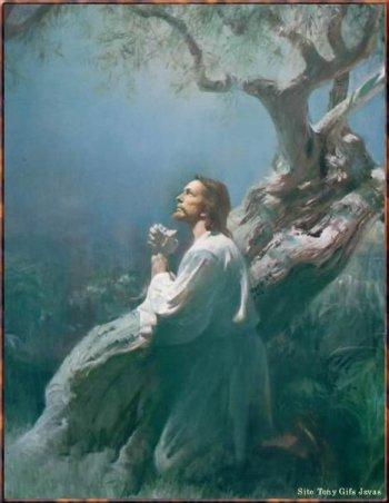 Jesus no Horto das Oliveiras